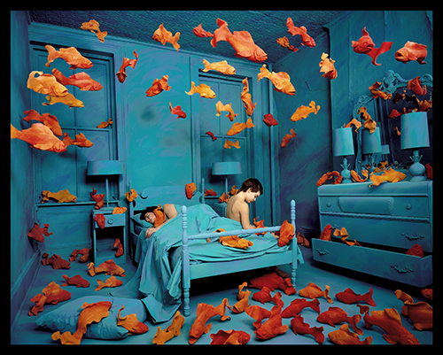 7. SANDY SKOGLUND REVENGE OF THE GOLDFISH 1981